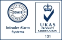Product certification logo for Intruder Alarm Systems